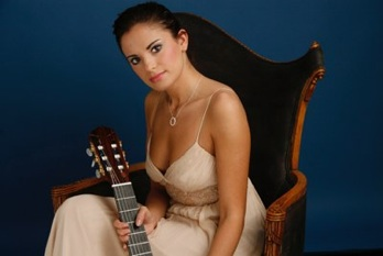 Join us Saturday, April 25 for an evening of classical guitar with Ana Vidovic.